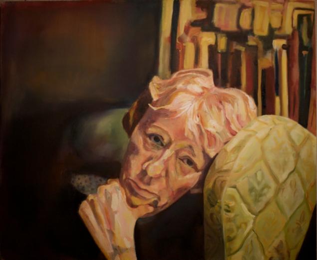 Brigitte Oil on Canvas 40x48 2010
