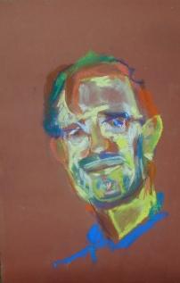 "chalk pastel on paper 6""x11"" 2011"