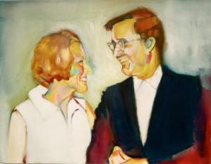 Wedding Oil on Canvas 34x44 2011