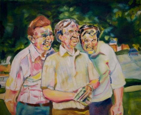 Reunion Oil on Canvas 36x44 2011