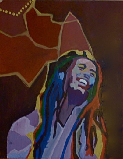 Marley Acrylic on Board